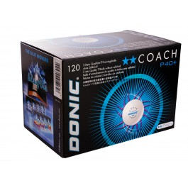 Donic P40+ 2** Coach (seam) 120pcs