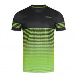 Donic T-Shirt Tropic Noir/lime green