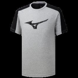 "Mizuno T-shirt Heritage Tee ""2"" grey"
