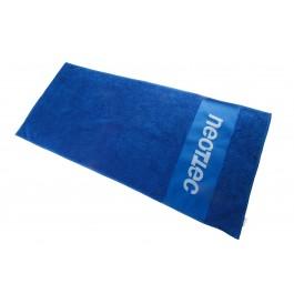 Neottec Serviette Logo 50x100 cm Bleu