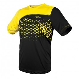 Tibhar T-shirt Game black/yellow