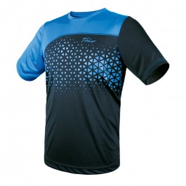 Tibhar T-shirt Game blue/light blue
