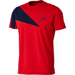 Xiom T-shirt Jaxon Rouge/navy