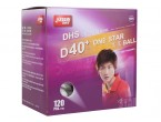 Voir Table Tennis Balls DHS D40+ 1* 120 Balles (seam)