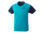 Voir Table Tennis Clothing Nittaku T-shirt VNT-IV Bleu (2090)