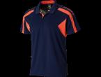 Voir Table Tennis Clothing Xiom Chemisette Harold Navy/orange