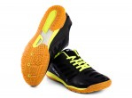 Voir Table Tennis Shoes Andro Chaussures Cross Step Noir