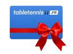 Voir Table Tennis Service Chèque-Cadeau 100 Eur