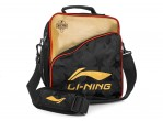 Voir Table Tennis Bags Li-Ning Shoulder Bag ABDN164-1 Noir/gold