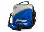 Voir Table Tennis Bags Li-Ning Shoulder Bag ABDN164-2 Bleu/silver