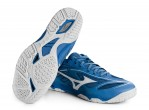 Voir Table Tennis Shoes Mizuno Chaussures Wave Medal 6 (2021) mediterranian bleu/blanc
