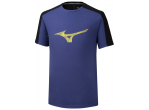 "Voir Table Tennis Clothing Mizuno T-shirt Heritage Tee ""2"" purple"