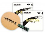 Voir Table Tennis Bats Neottec Raquette Gamma All+/Katana 2.0